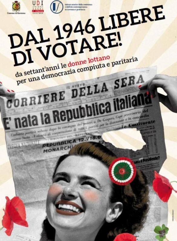 Dal 1946 libere di votare